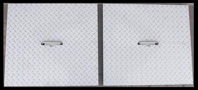 グリストラップのステンレス蓋の画像